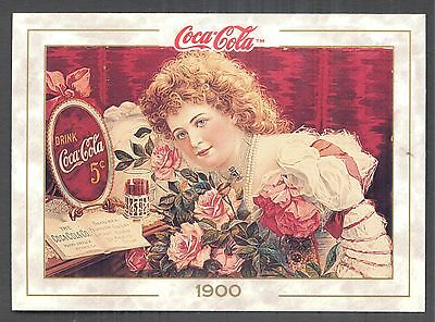 .Year 1900: Actress Hilda Clark Poster, 1993 Coca-Cola Series 1 Card #8