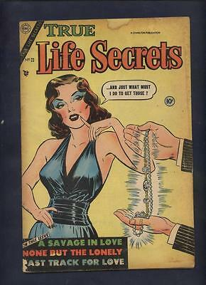 True Life secrets #23 Love ? comic ALL time classic Tempted painted dame cover