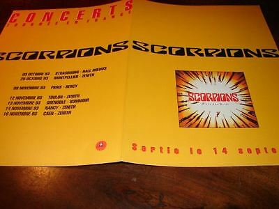 Scorpions Face The Heat!!!!!!!!!!!rare French Press/kit
