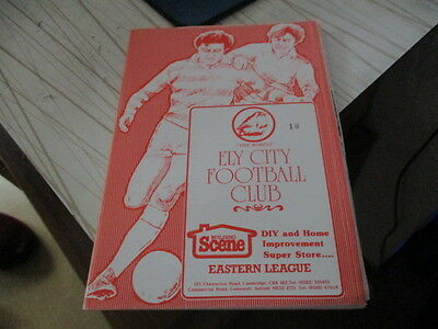 Ely  City  V  Watton  Utd  1986-7