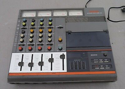Fostex 250 4 Track Cassette Recorder Mixer,Vintage Unit With Owners Manual