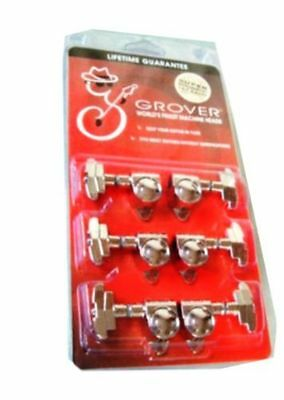Grover 109C Guitar Super Rotomatics Chrome 3x3 tuning heads 14:1 gear ratio SALE