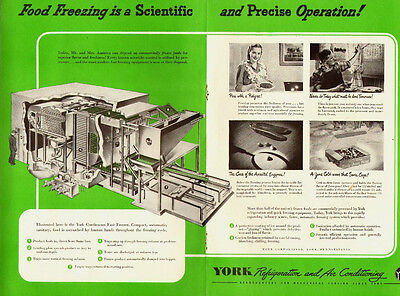 1950's Vintage ad for YORK Refrigeration and Air Conditioning (092613)