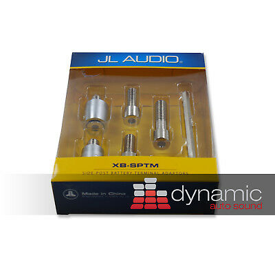 JL AUDIO XB-SPTM Side-Post Top Mount Battery Terminal Adapters (Pos & Neg) New
