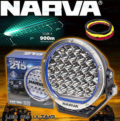 Narva Ultima 9 Inch 215Mm Led Driving Light Lamp 165W Offroad Spotlight 71740