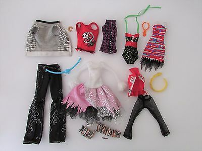 Mixed Lot 2 of Clothes/Accessories to Suit Monster High Boy & Girl Dolls