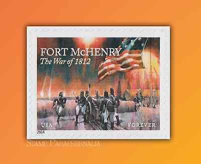 2014 The War of 1812 FORT McHENRY SINGLE (forever)