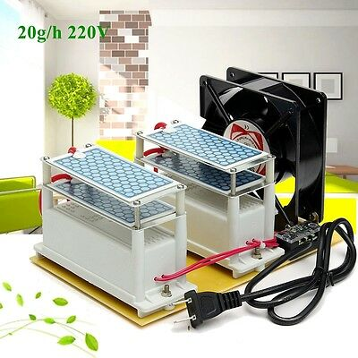 20g Commercial Ozone Generator Living Air Purifiers Ozone Disinfection Machine