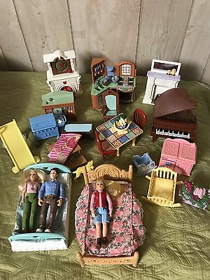 Fisher Price Loving Family DOLLHOUSE Furniture Lots