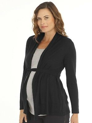 Maternity Outfit: It's Cold Outside Cardigan + Top Combo