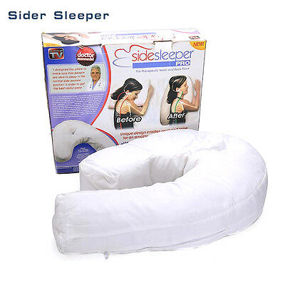 TV Side Sleeper Pro Pillow Sleeping Waist Support Bed Deep Sleep U Shaped Soft