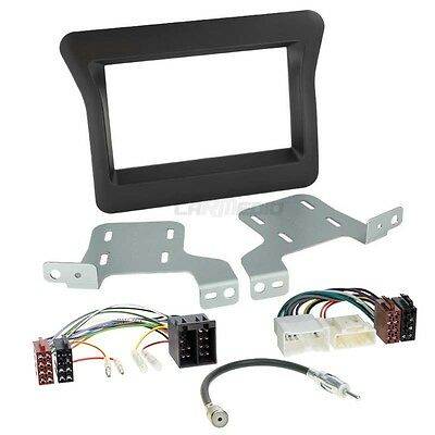 Renault Master 3 10-14 2-DIN Car Radio Installation Set+Cable,Adapter,