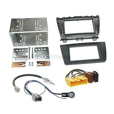 Mazda 6 GH 08-12 2-Din Car Radio Installation Set + Cable, Adapter, FACEPLATE