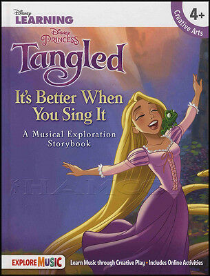 Disney Learning Tangled It's Better When You Sing Musical Exploration Storybook