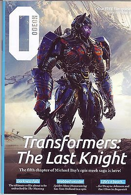 Odeon Uk Movie Magazine Transformers Cover  June 2017 Issue