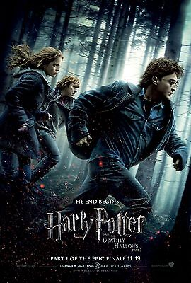 Harry Potter And The Deathly Hallows Pt1 Laminated A4 Mini Movie Poster Print