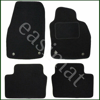 Vauxhall Astra H Mk5 Tailored Carpet Car Mats 2004-2009 Black 4 pcs Floor 367