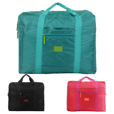 Big Foldable Waterproof Travel Bag Clothes Pouch Storage Suitcase Hand Luggage