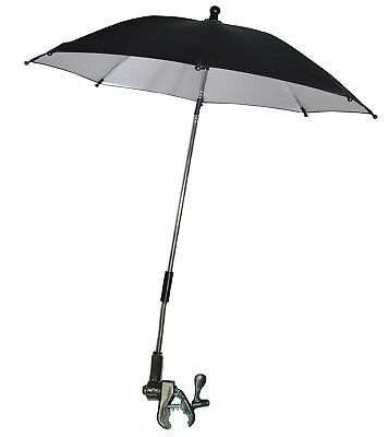 Adjustable Pram Buggy Baby Carrier Parasol UV Rays Shade Sun Protection Umbrella