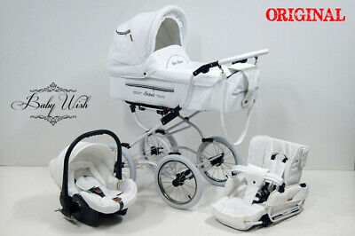 ISABELL Retro Travel System, Pram Baby Fashion 2in1 or  3n1 + FREE RAIN COVER