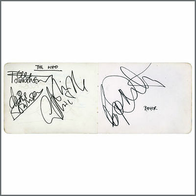 The Who With Chris Townson 1967 Autographs (UK)