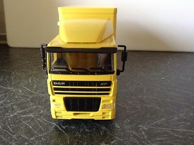 JOAL 357 DAF XF Low Cab Rigid Curtain Side Lorry 1/50th Scale New Boxed