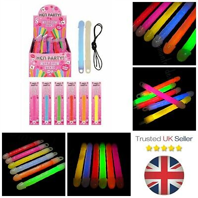 Novelty Hen Party Willy Glow Sticks Light Up Ladies Women Festival - ML