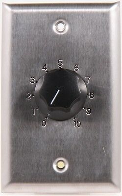Atlas Sound AT35 Volume Control - Stainless Steel,