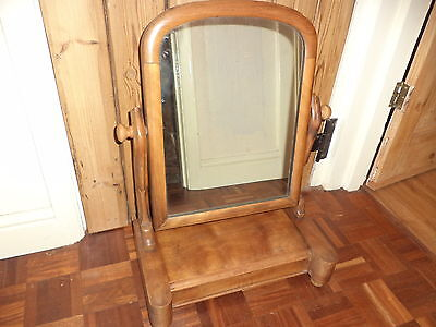 Antique wooden dressing table mirror toilet mirror