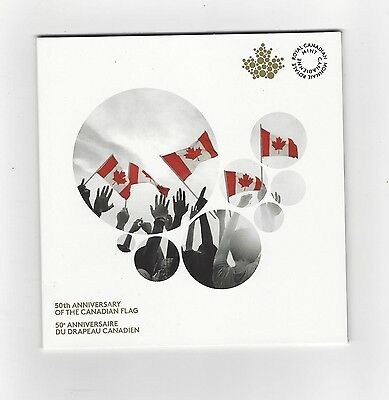**2015**50th Anniversary of the Canadian Flag Set, 2 Coin Set**