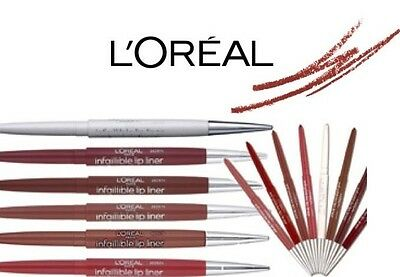 Loreal Infaillible Retractable Lip Liner Indefectible  Pink Brown Clear *choose*