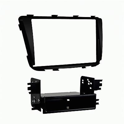 Metra 99-7347B Single or Double DIN Dash Install Kit for 2012-Up Hyundai Accent