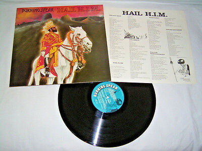 LP - Burning Spear Hail H.I.M. - 1980 OIS # cleaned