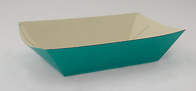 250 x Open Cardboard Takeaway Fast Food Containers Burger Roll Chip Trays 210mm