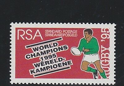 SOUTH AFRICA 1995 Rugby world Cup Winner MNH Std postage Single