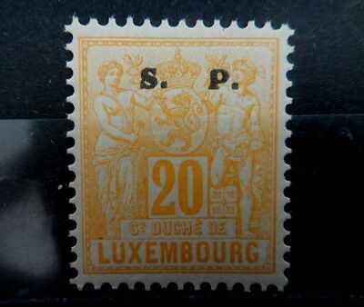 LUXEMBOURG 1882 SERVICE Timbres n° 60  Neufs** TTB - MNH- VF - r10b154