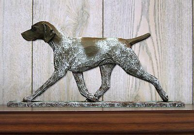 German Shorthair Pointer Figurine Sign Plaque Display Wall Decoration