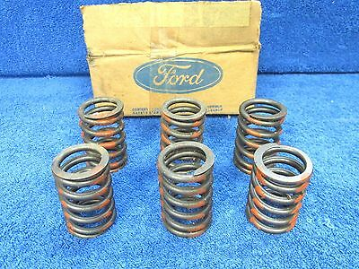 1968-72 FORD  429ci  460ci  INTAKE & EXHAUST  VALVE SPRINGS  ( 6 )  NOS FORD 617