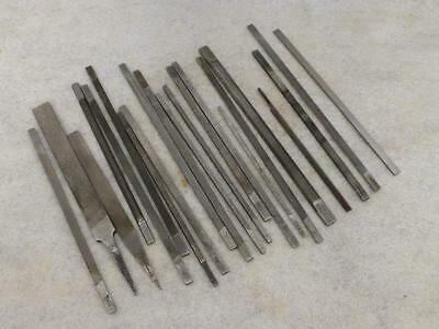 Large Selection of Engineers/Jewellers Precision Files - Grobet Swiss, Thiel etc