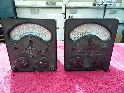 Ornamental Interior Design 2 Vintage Bakelite And Metal Avometers Models 40 & 7