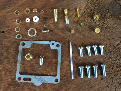 TWO 2 New Complete Carb Rebuild Kit Kits for Yamaha XV1100 Virago 1988 to 1999