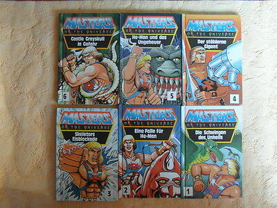 Masters of the Universe Mini-Buch Comic 1 bis 6