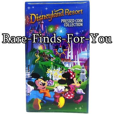 Disney Parks Disneyland Mickey Minnie Mouse Pressed Coin Collection Book Holder