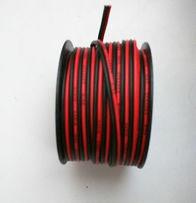 IMC AUDIO 200' Feet 16 GA Gauge Red Black 2 Conductor Speaker Wire Audio Cable