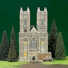 Dept 56 Dickens Village Westminster Abbey #58517 (h02)