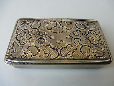 Fine, Very antique covered dish __900 Silver __ 73, 4 Grams