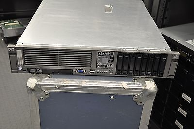 HP DL380 G5 2x Intel E5450 3.0Ghz Quad Core XEON 32GB RAM No HD 2x PS
