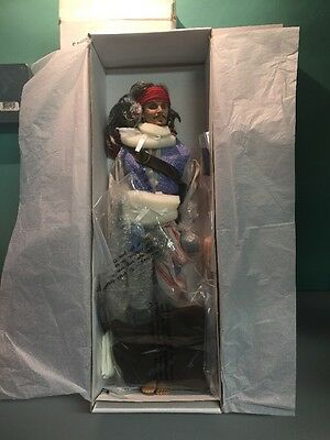 "Captain Jack Sparrow Pirates of the Caribbean Tonner doll Brand New.  18""."
