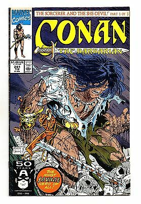 Conan The Barbarian Vol 1 No 241 Feb 1991 (FN+ to VFN-) Marvel, Modern Age