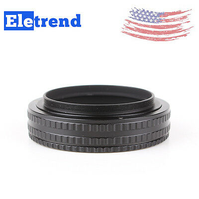 M58 Mount Lens Adjustable Focusing Helicoid Macro Tube Adapter - 17mm to 31mm